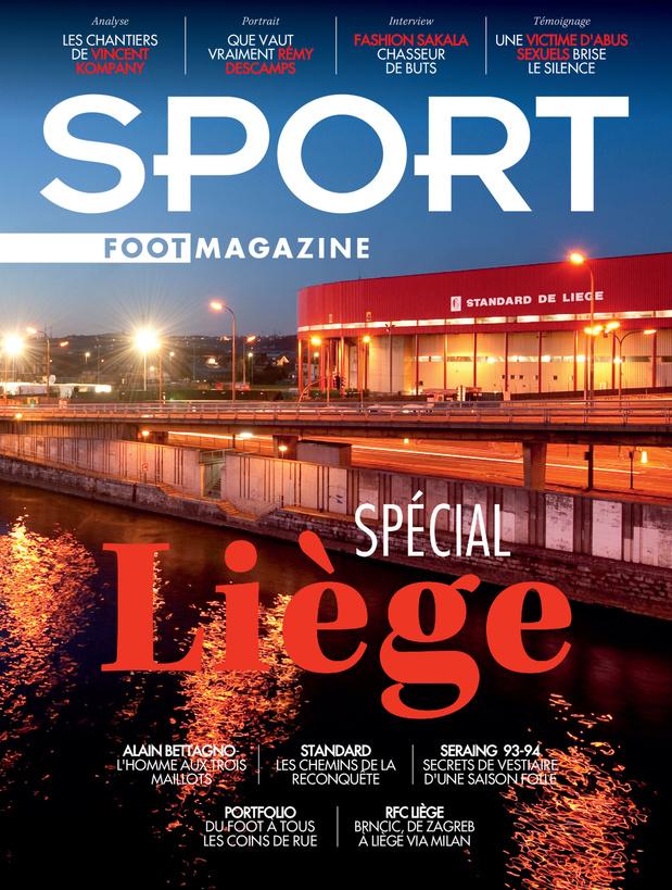Au menu de Sport/Foot Magazine: numéro spécial Liège