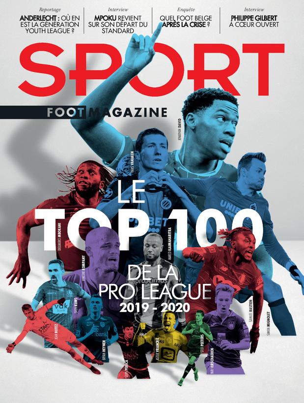 Quiz du jour: le top 100 de Jupiler Pro League