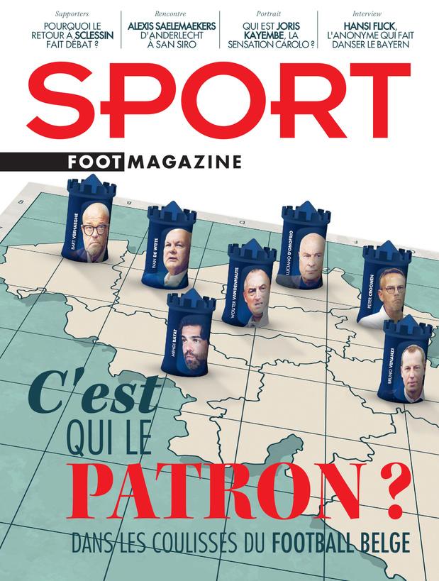 Au menu de Sport/Foot Magazine: qui est le vrai patron du foot belge?