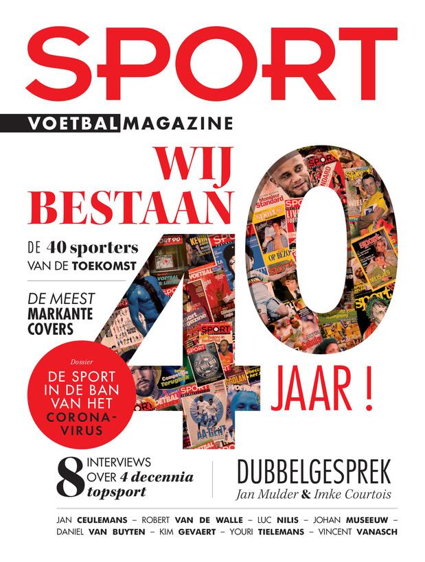 40 jaar Sport/Voetbalmagazine