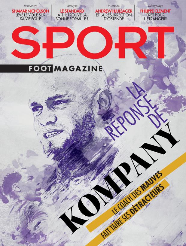 Au menu de Sport/Foot Magazine: la réponse de Kompany, la nouvelle recette du Standard et la vie folle de Nicholson