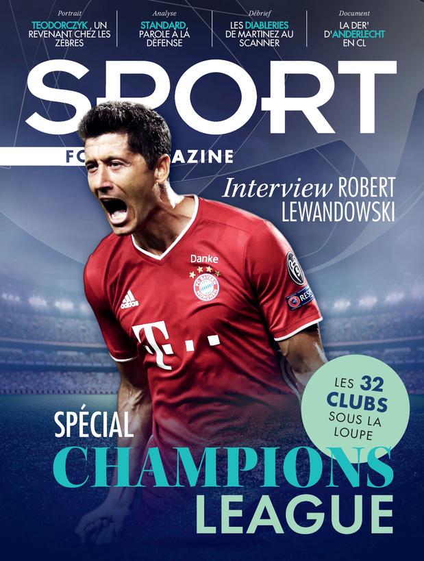Au menu de Sport/Foot Mag: dossier spécial Ligue des Champions