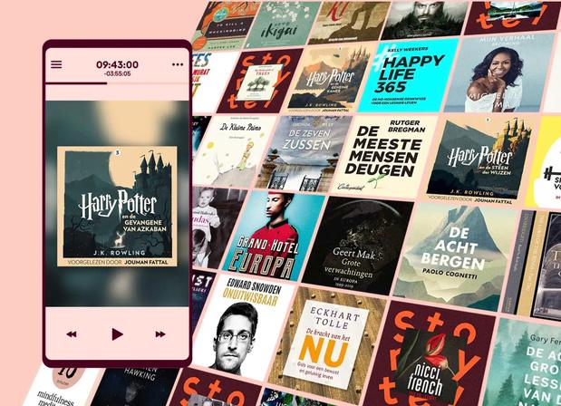 Luisterboeken van Storytel binnenkort ook in Vlaanderen beschikbaar