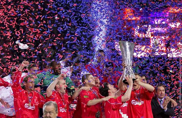 Ce jour-là : Liverpool remportait la Coupe UEFA au terme d'une finale folle