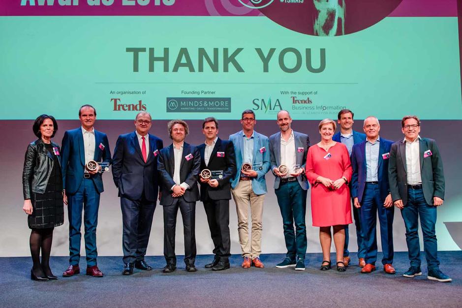 La soirée de gala du Trends Sales & Marketing Awards 2019: compte-rendu en images