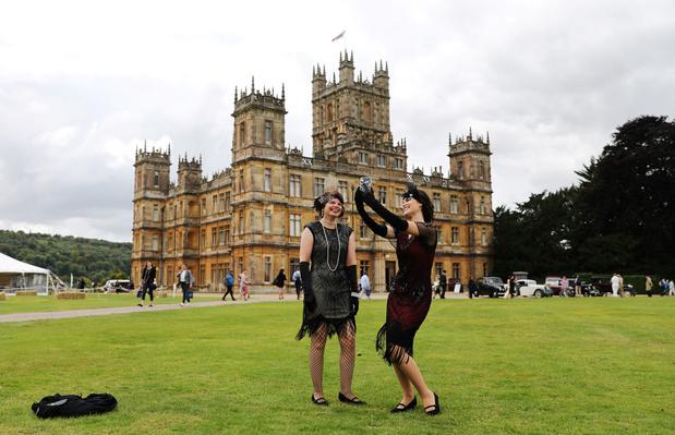La fièvre Downton Abbey s'empare de Highclere Castle