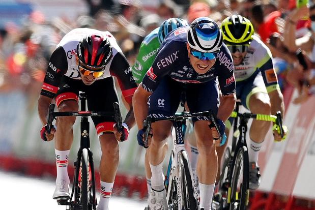 Meteen prijs voor de Belgen in Vuelta: Philipsen wint tweede etappe, Roglic blijft leider