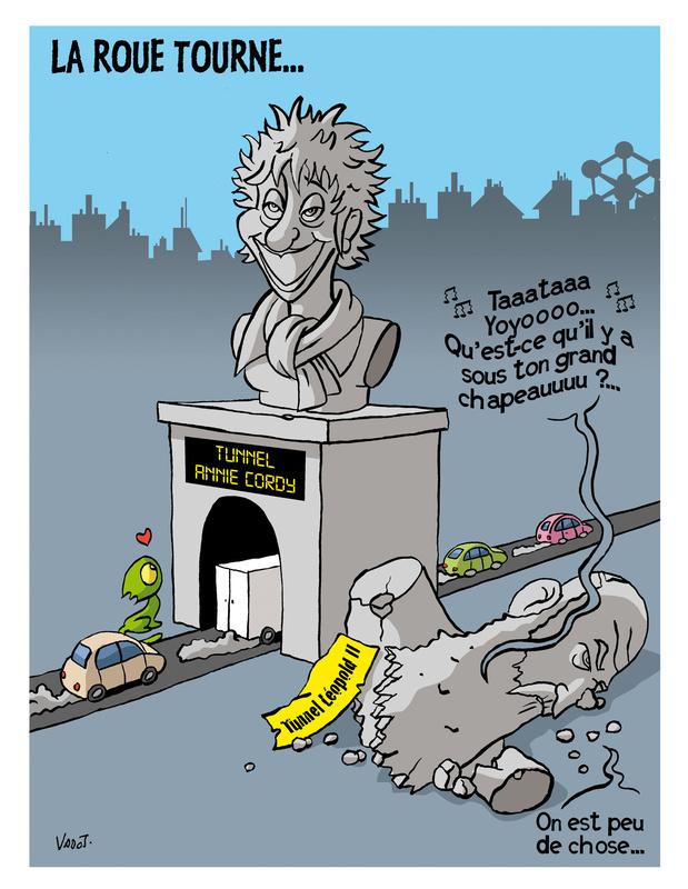 Les compléments de Vadot: le tunnel Annie Cordy, les chiens corona et Ursula Von der leyen