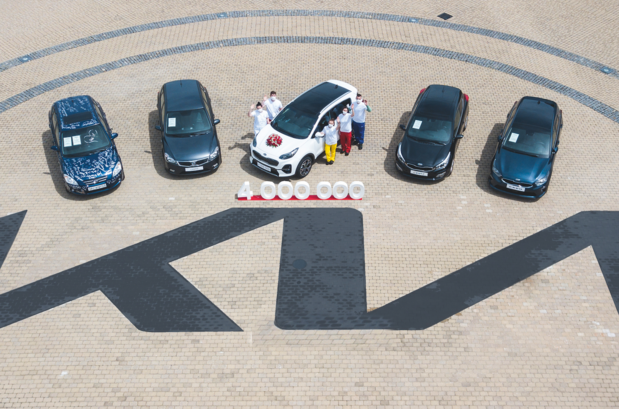 Kia bouwde 4 miljoen wagens in Europa