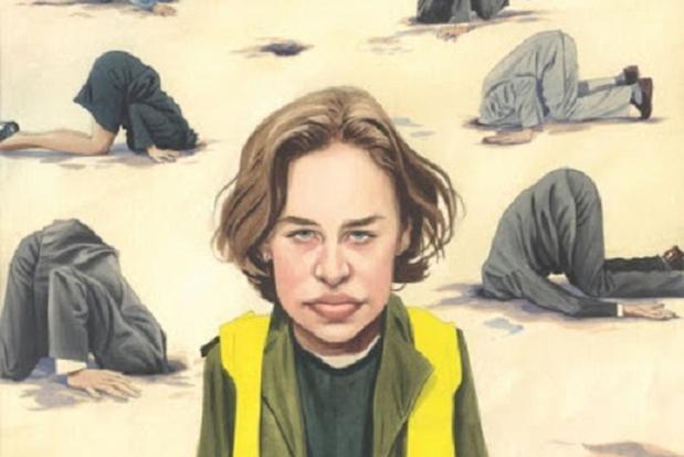 Karl wint Grote Prijs Knokke-Heist 2020 op Press Cartoon Belgium