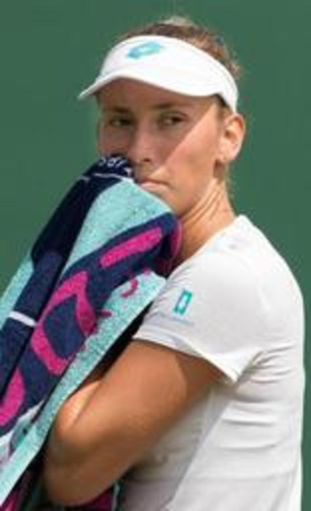 WTA San Jose - Elise Mertens begint met nederlaag aan hardcourtseizoen