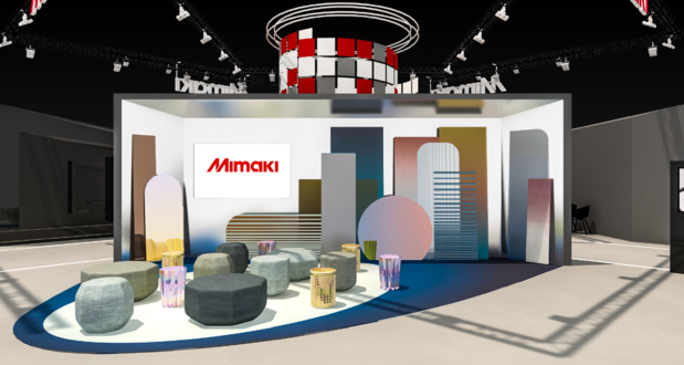 'Imagine the future of print' met Mimaki op FESPA 2019
