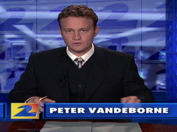 Voormalig VTM-journalist Peter Vandeborne overleden
