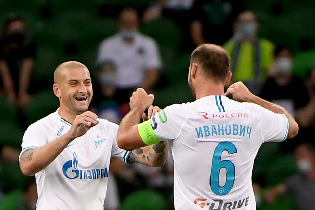 Le Zenit est champion de Russie
