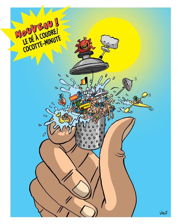 Le Vadot de la semaine: la Belgique connaît un été sous haute tension