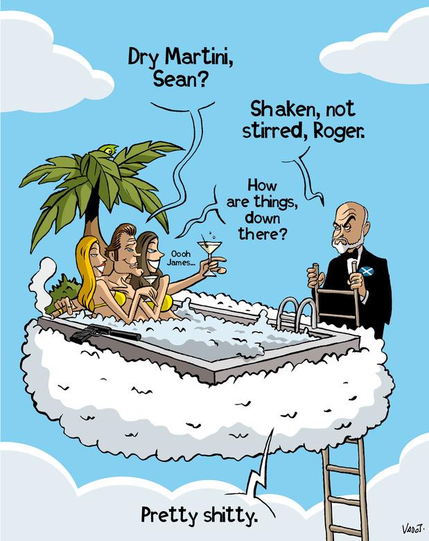 Les complément de Vadot: le décès de Sean Connery, la deuxième vague de Covid et le Brexit