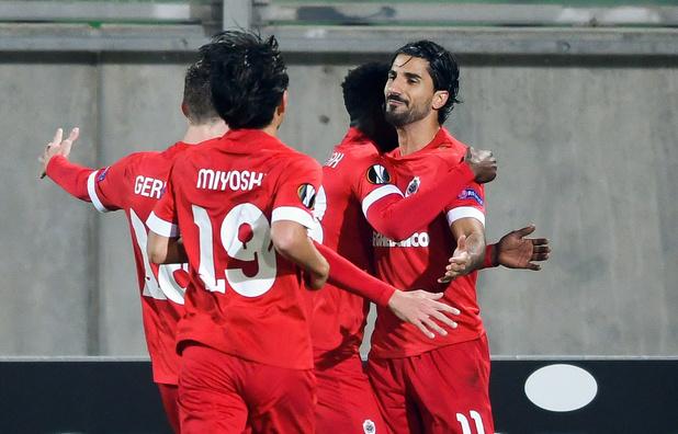 L'Antwerp gagne à Ludogorets, La Gantoise battue par le Slovan Liberec
