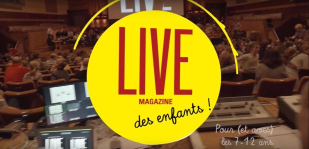 Le LIVE Magazine des enfants fait son grand retour à Flagey