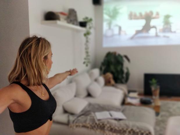Yoga en ligne: des souris et des Om