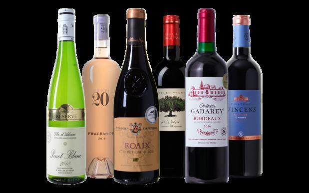 """""""Tour de France"""" Wijnpakket: Een ronde langs een topselectie heerlijke Franse wijnen"""