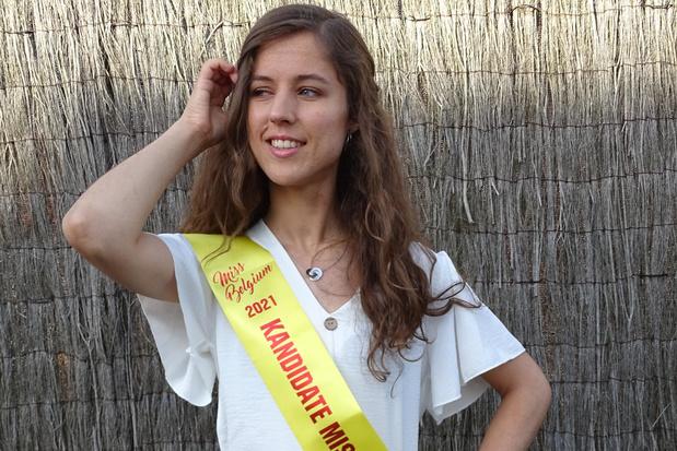 Kelly Smekens waagt haar kans in verkiezing Miss West-Vlaanderen