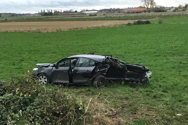 Fransman komt om het leven nadat hij met wagen van de weg geraakt in Poperinge