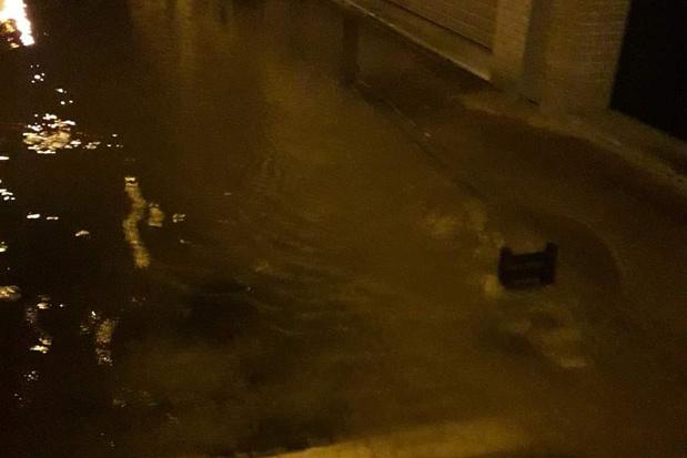 Waterlek in de Roelensstraat