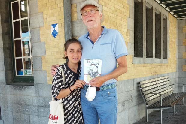 Jeugdauteur Katrien Vervaele stelt wandelgids samen