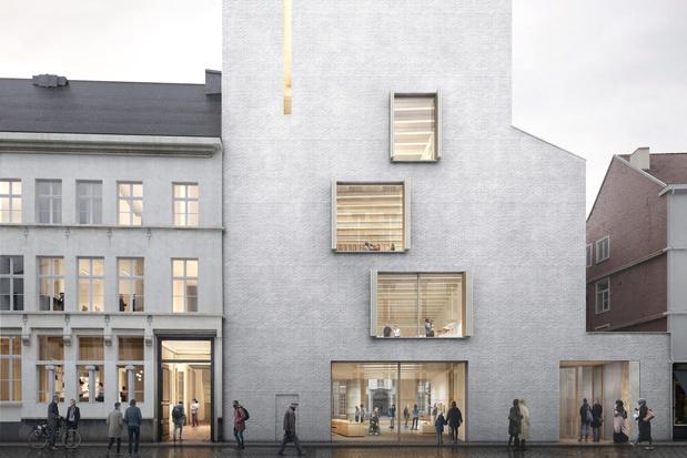 Gevel van Gents Designmuseum wordt circulair