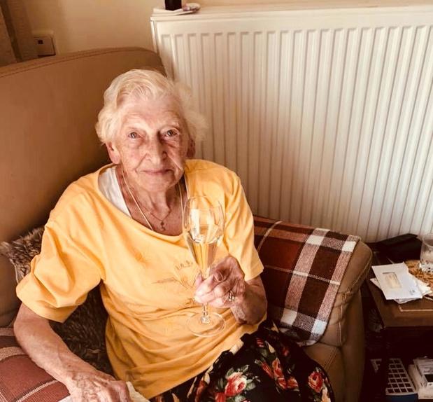 Marcelline krijgt toch haar feest voor haar 100ste verjaardag