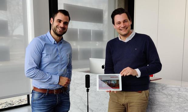 Iepers Immokantoor pakt uit met virtuele bezoeken