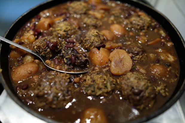 """Le hamin, ou cholent, plat juif ancestral et symbole du nouveau """"melting pot"""" d'Israël"""