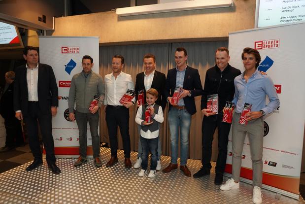 Les champions Belcar à l'honneur
