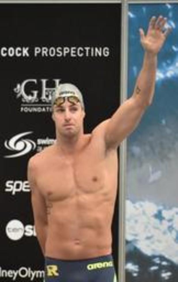 L'Australien James Magnussen, double champion du monde du 100m libre, se retire
