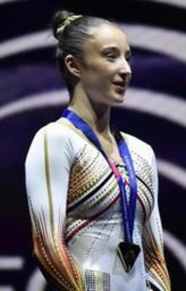 Nina Derwael ne défendra pas son titre à l'Euro de Szczecin