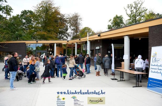 Zondag Nationale Kinderkankerdag in Planckendael