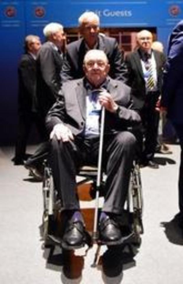 Décès à 89 ans de l'ancien président de l'UEFA, le Suédois Lennart Johansson
