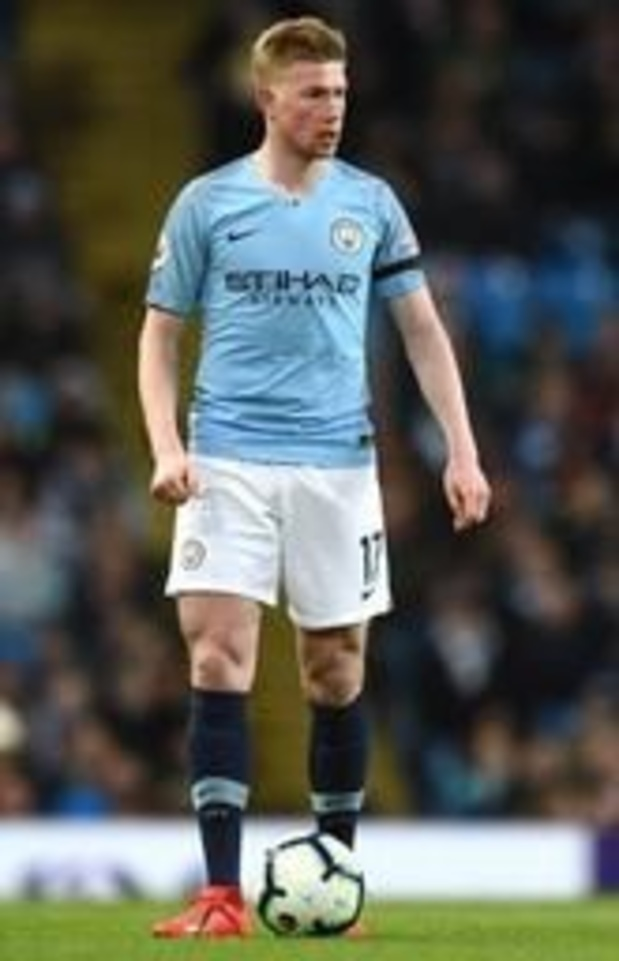 """Le quadruplé """"quasi impossible"""" pour Manchester City, selon Kevin De Bruyne"""