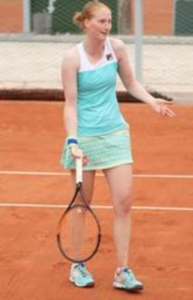Geen kwartfinale voor Alison Van Uytvanck