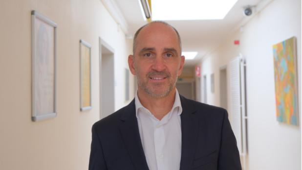 Gert Van Esbroeck, nouveau directeur médical des Hôpitaux Iris Sud.