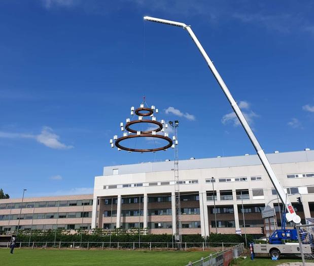 Monumentaal kunstwerk van Tom Herck voor Sint-Trudo Ziekenhuis