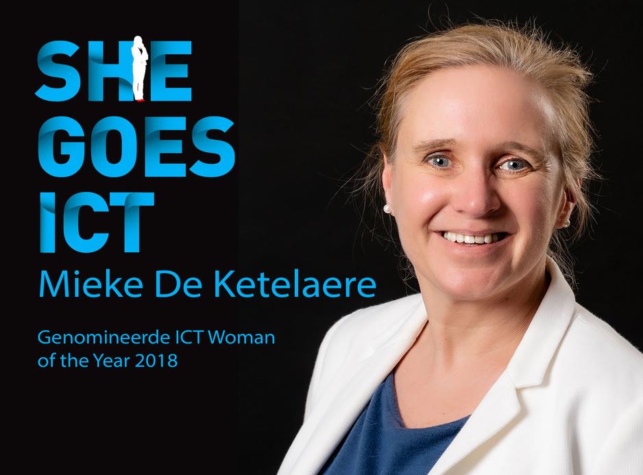 Mieke De Ketelaere (IDLab): 'Nadenken over de toekomst van de toekomst is het mooiste aan mijn job'