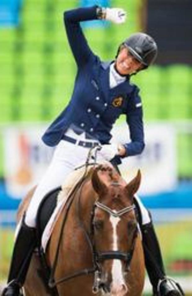 Euro d'équitation - Trois nouvelles médailles belges en para-dressage