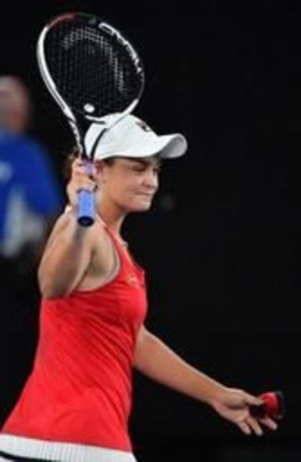 Ashleigh Barty entre dans le top-10, Elise Mertens sixième en double