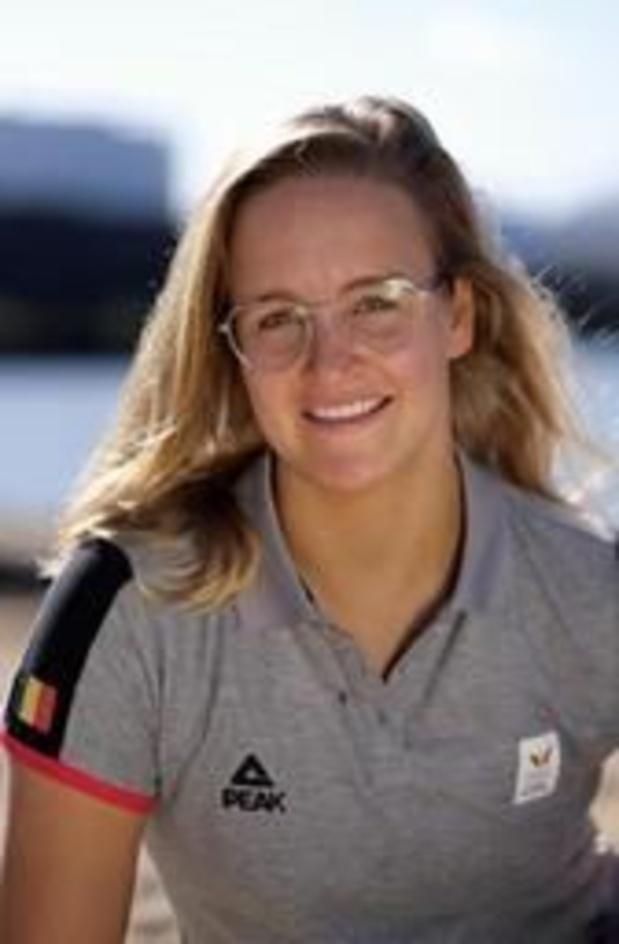Emma Plasschaert défend son titre de championne du monde en pensant déjà aux Jeux