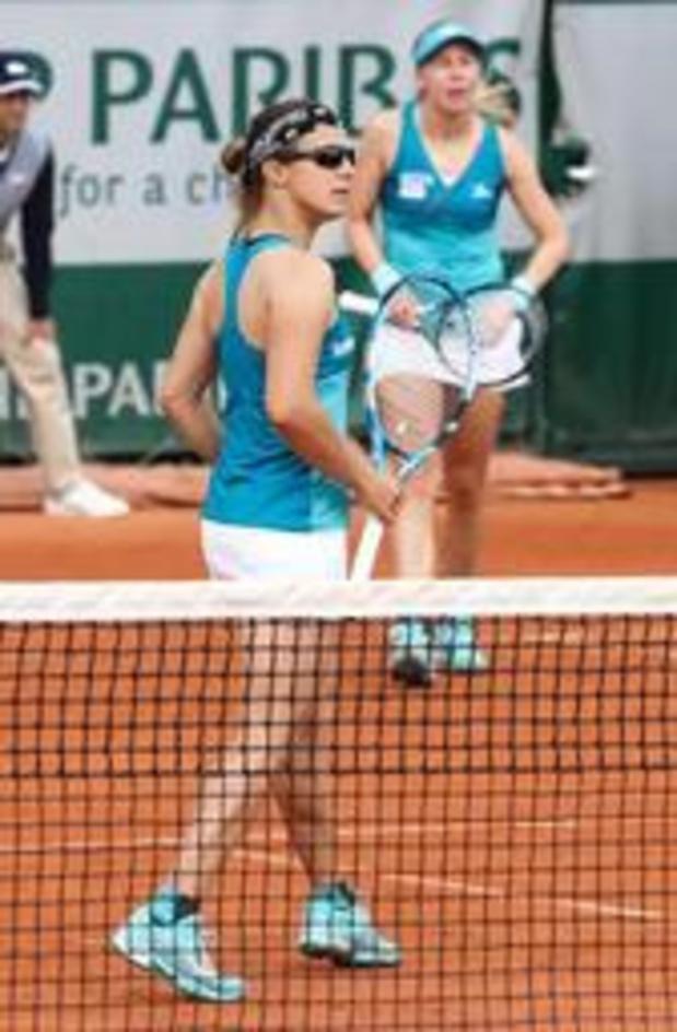 Roland-Garros - Kirsten Flipkens en quarts de finale du double dames