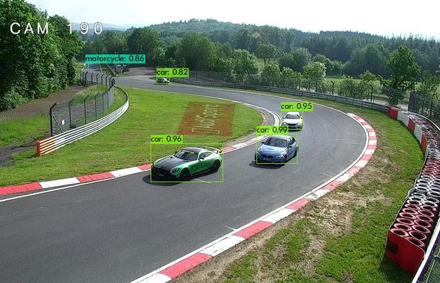 Fujitsu va assurer avec l'AI une plus grande sécurité sur le Nürburgring