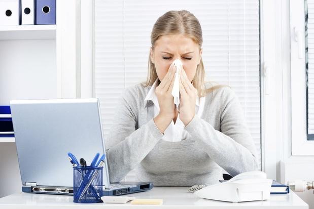 L'absentéisme pour maladie de courte durée est en forte baisse