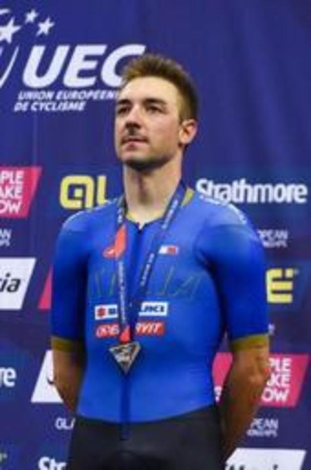 L'Italien Elia Viviani prive Yves Lampaert du titre de champion d'Europe