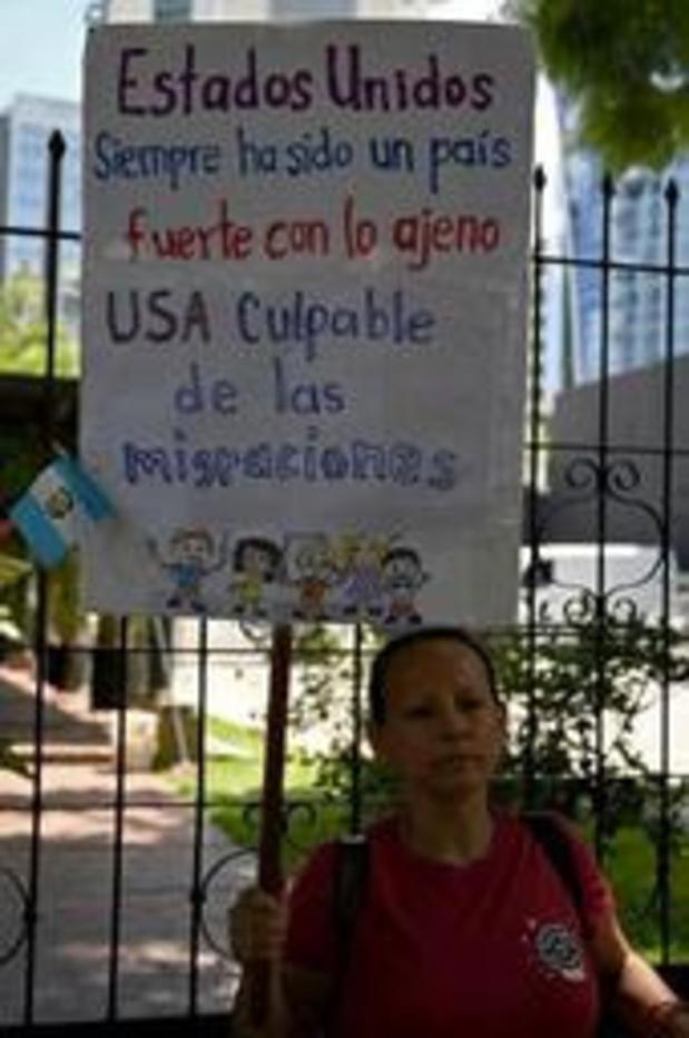Guatemala : manifestation contre l'accord migratoire avec les Etats-Unis